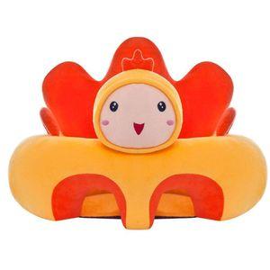 Baby-Sofa-Sitzbezug, Cartoon-Plüschsitz, weiches Sofa, abnehmbar, waschbar, Baby-Stützsitz, Plüsch-Spielzeug, Kissen für Kleinkinder, Kinder, Kleinkinder
