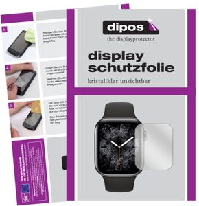 6x Apple Watch Series 5 (40mm) Schutzfolie klar Displayschutzfolie Folie Display