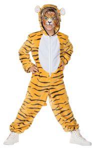 Kinder Kostüm Bengalischer Tiger Amar, Größe:116