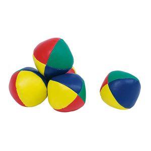 goki SA133 Jonglierball gefüllt mit Kunststoffkugeln, Ø= 60 mm, mehrfarbig