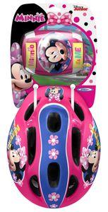 Disney kinderhelm mit Polstern Minnie Mouse Mädchen rosa 5-teilig