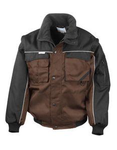 Workguard Heavy Duty Jacket / Arbeitsjacke - Farbe: Tan/Black - Größe: L