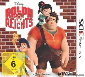 DisneySpiel  Ralph reichts 3DS Ralf reicht's