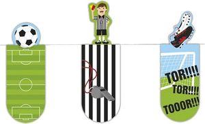 Magnetische Lesezeichen Fußball 6 cm 3 Stück