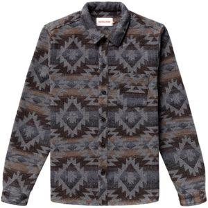 Revolution Herren Hemd Casual Shirt, Größe:M, Farben:grey