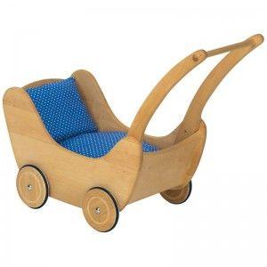 Happy Kidz Puppenwagen aus Holz 21404235008