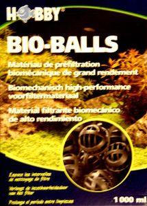 1000 mlballs, Filterbälle für Außenfilter, Filtermaterial, Aquarium, Vorfilterung, Außenfilter