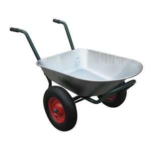 Varan Motors - WB6407 Schubkarre mit 2 Rädern, 80 Liter, max 120kg