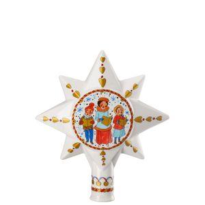 Hutschenreuther Christbaumspitze Weihnachtsmarkt Christbaumspitze gr. 02265-727312-27821