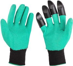 Gartenhandschuhe mit Krallen   1 Paar   Wasserdicht   Einheitsgröße   Gartenarbeit   Handschuhe   Arbeitshandschuhe