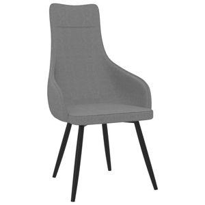 【Neu】Sessel Sessel Hellgrau Stoff Gesamtgröße:56 x 61 x 105 cm BEST SELLER-Möbel-Stühle-Sessel im Landhaus-Stil