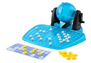 Bingo Lotterie Brettspiel Spielzeug Lotto Bälle Käfig Familie Zähler 1556