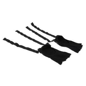1 Paar Yoga-Socke Farbe Schwarz