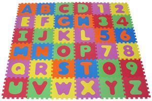 knorr toys Puzzlematte Alphabet + Zahlen 36 tlg. (86 Einzelteile); 21004