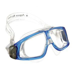 Aqua Sphere Seal Schwimmmaske, Farbe:blau/transparent