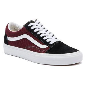 Vans Old Skool Port Royale Schwarze Herren Sneakers