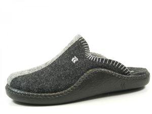 Romika 61042-54 Mokasso 62 Schuhe Damen Hausschuhe Pantoffeln , Größe:42 EU, Farbe:Grau