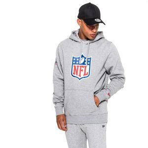 New Era - NFL Shield Logo Hoodie - grey : 4XL Farbe: Grau Größe: 4XL