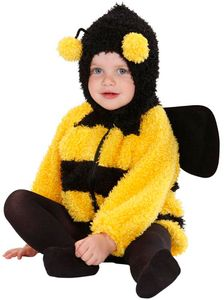 Biene Mara Kostüm Baby Bienen-Jacke Größe: 80