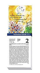 Neukirchener Kalender 2015. Abreißkalender Großdruck ohne Rückwand