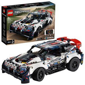 LEGO 42109 Technic Control+ Top-Gear Ralleyauto mit App-Steuerung, Rennauto, ferngesteuertes Auto, Spielzeug für Kinder ab 9 Jahre und Erwachsene