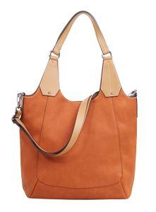 Esprit Damen Handtasche Tasche Shopper Cal Shopper Braun