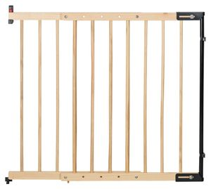 Clamaro Treppenschutzgitter, Gitter, Schutzgitter, Holz, Schutz, Türgitter, Massivholz
