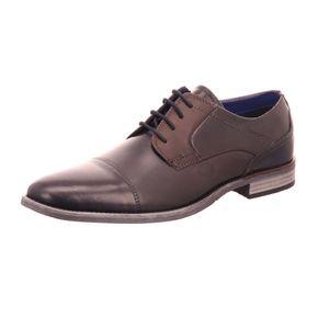bugatti Herren Business-Schuhe Blau/Dunkelgrau, Schuhgröße:EUR 44