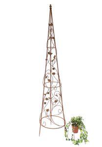 Rankhilfe Pyramide 082547 aus Metall XL-164 cm Kletterhilfe Rankgerüst Ranke