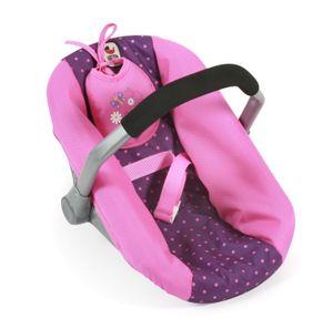 Bayer Chic 2000 Puppen-Autositz - Farbe: Dots Purple-Pink; 708 40