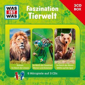 Was Ist Was - WAS IST WAS 3-CD HÖRSPIELBOX VOL.7 - TIERWELT - CD