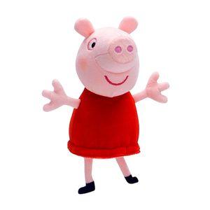Auswahl Plüsch-Figuren | Peppa Wutz | Peppa Pig | 15 cm Softwool | Stofftiere, Figur:Peppa Wutz