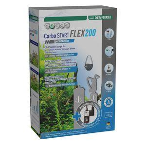 Dennerle Carbo START Flex200 Spec. Edition - CO2-Düngeset für Aquarien bis 200 Liter