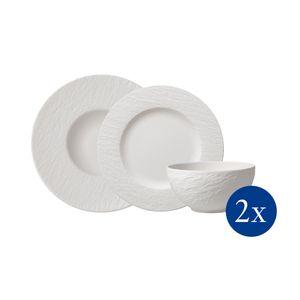 Villeroy & Boch Manufacture Rock blanc Starter Set 6tlg. EC 1042408950