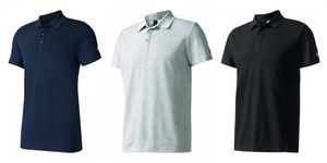 adidas Sport Essentials Base Polo / Poloshirt, Größe:XL, Farbe:Dunkelblautöne