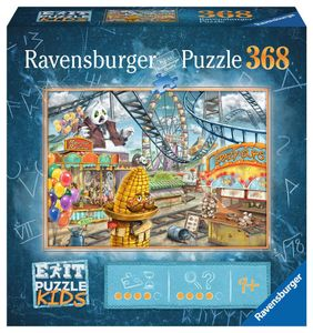RAVENSBURGER Kinderpuzzle EXIT Puzzle Kids Im Freizeitpark 368 Teile