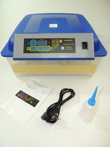 Campo24® V48 + 5 TLG. Zubehör Motorbrüter für bis zu 48 Eier/Inkubator/Vollautomatischer Motorbrüter/Incubator
