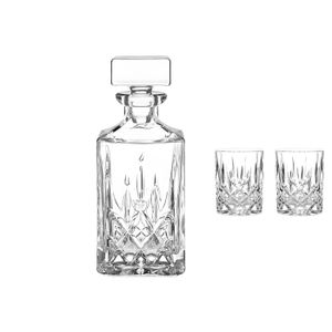 Nachtmann 0091899-0 Whiskykaraffe 'Noblesse' Set 3, klar (1 Set)