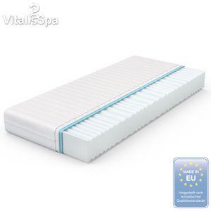 VitaliSpa Calma Comfort Plus Premium Marken Kaltschaum 7 Zonen Schaum Matratze 140x200 H2