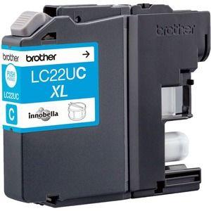 Brother LC22UC Tintenpatrone - Cyan - Tintenstrahl