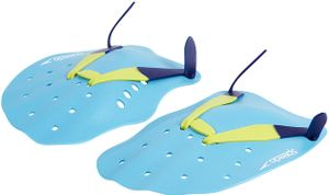 speedo Tech Paddles turquoise/lime/ultramarine Größe L