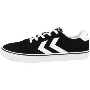 Hummel Stadil 3.0 Suede Sneaker Schuhe schwarz/weiß 207548-2001, Schuhgröße:45 EU