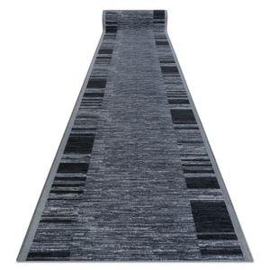 Läufer Antirutsch ADAGIO grau Grau 80x300 cm