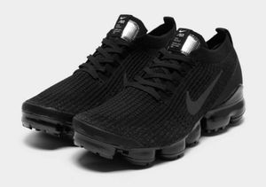 Nike Air Vapormax Flyknit 3 EUR Gr.43 Schuhe Sneaker NEU Herren Schwarz