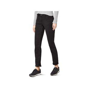 20431 Cecil, Scarlett Tapered,  Damen Jeans Hose, Stretchdenim, schwarz, W 25 L 30