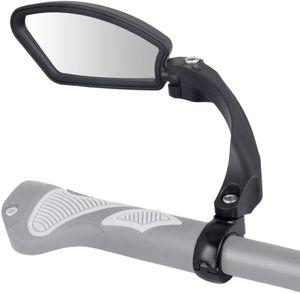 Boomersun Nylonfaser Fahrradspiegel Seitenspiegel Fahrrad E-Bike Spiegel Lenker, Ausführung: Links