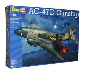 Revell Modellbausatz Flugzeug 1:48 AC-47D Gunship Modellbau Flugzeugbau Modell