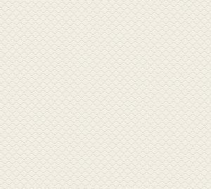 Jette Joop Art Deco Tapete einfarbige Tapete unifarben Vliestapete creme weiß 10,05 m x 0,53 m