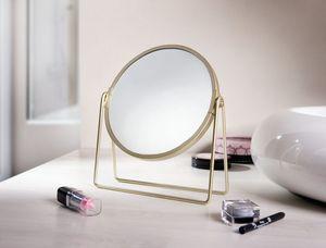 Kosmetikspiegel 'Golden', Ordnungshelfer Dekoration Kosmetik Spiegel Schönheit