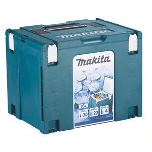 Makita Makpac 4 Koffer Kühlbox 18l Volumen mit Isolierauskleidung ( 198253-4 )